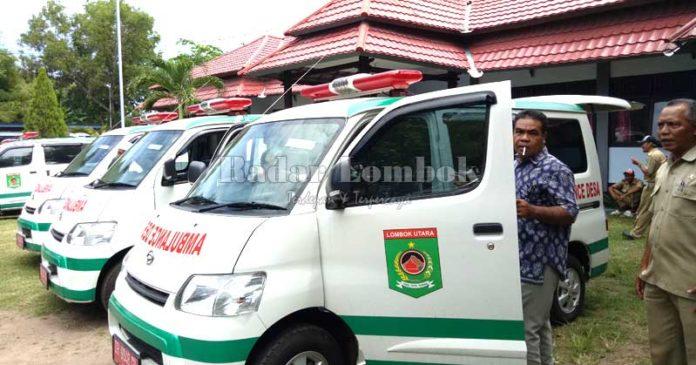 Khaerul Janji Penuhi Satu Dokter Satu Ambulans