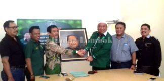 Nurdin dan Kiai Zul Daftar di DPP PKB