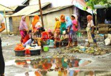 Pasar Ikan Tanjung Luar Kumuh
