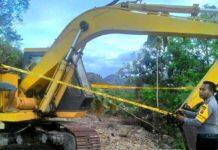 Polda Tutup Tambang Galian C di Sumbawa