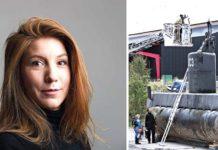 Jurnalis Perempuan Dimutilasi saat Liputan Kapal Selam