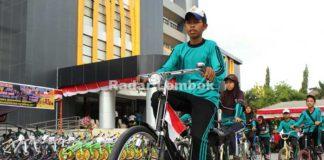 Bersepeda ke Sekolah akan Terus Disosialisasikan