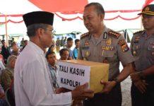 Kapolri Kirim Bantuan untuk Korban Banjir Lombok Timur