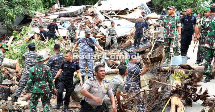 Kerugian Akibat Banjir Lombok Timur
