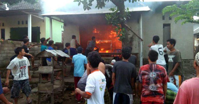 Bensin Tumpah, Tabung Gas Meledak, Rumah Terbakar
