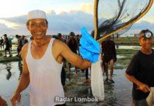 Bau Nyale 2018 di Lombok Timur
