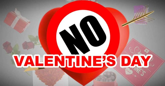 No Valentine's Day