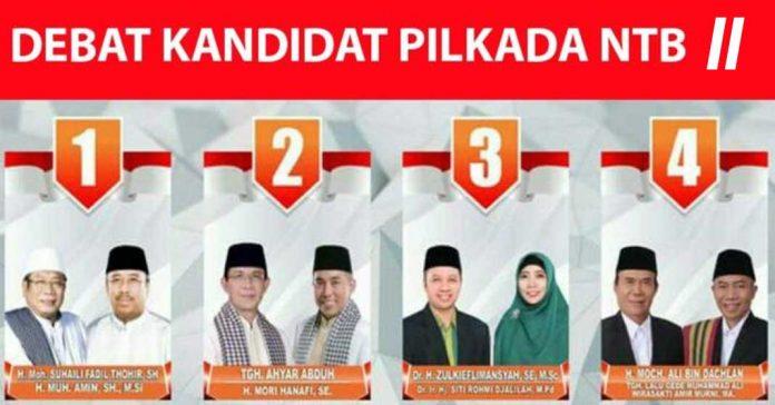 Debat Kedua Pilkada NTB