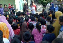 Relawan Mulai Obati Trauma Anak Korban Gempa Lombok