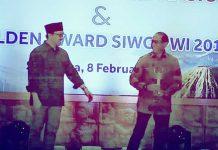KONI NTB Terima Golden Award PWI