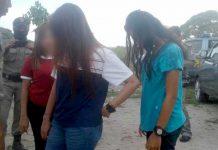 Tiga Perempuan Penghibur Diamankan