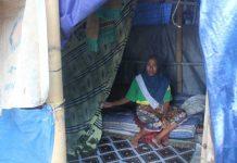 Masih Ada Warga yang Tinggal di Tenda
