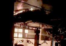 Rumah Hangus Terbakar
