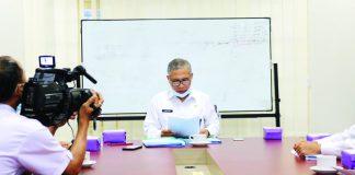 Kepala Bappenda Provinsi NTB Dr H Iswandi
